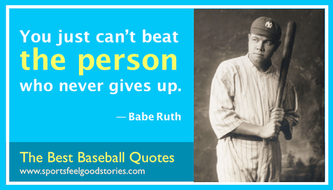 Baseball Quotes, Inspirational Sayings, And Funny Takes
