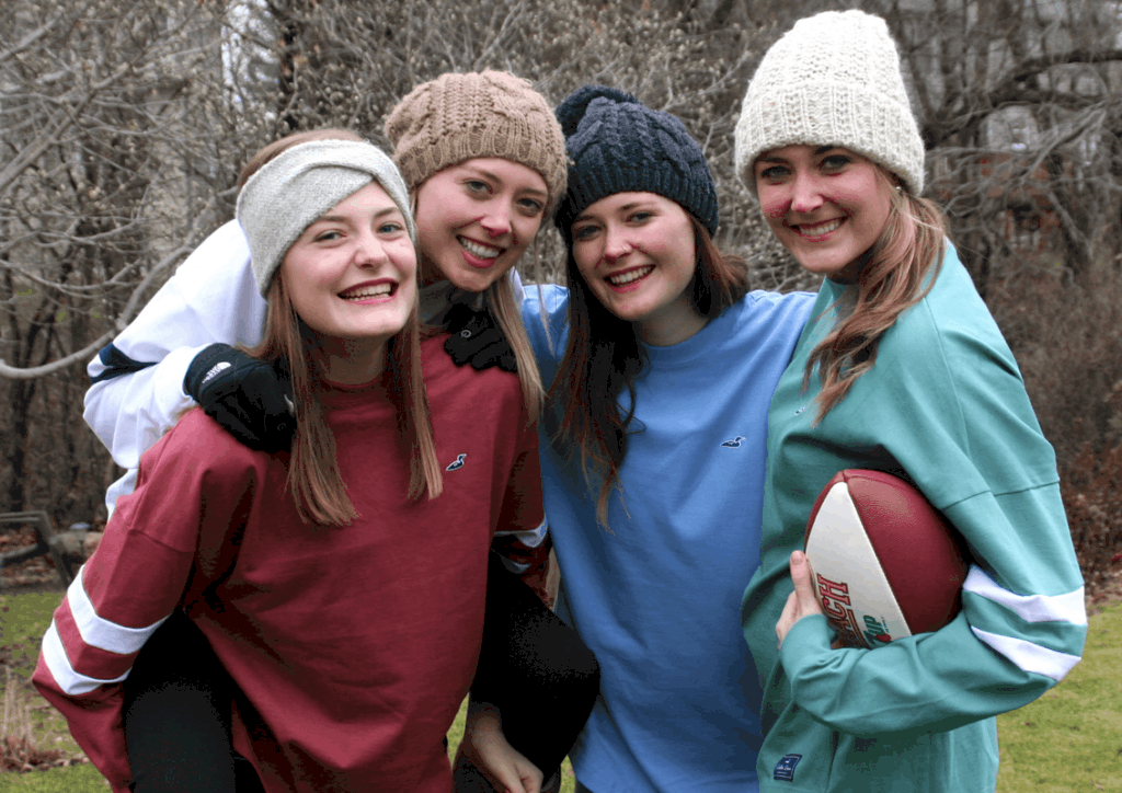football girls image