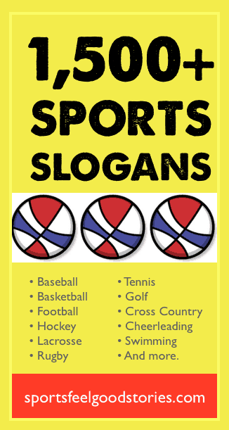 Sports Slogans, Sayings and Phrases for Teams of all Ages