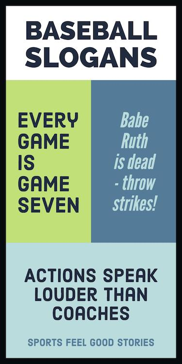Baseball slogans and sayings image
