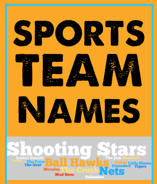 sports team names image