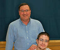 Thomas Bowlin and Dad image