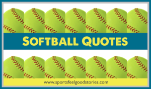 Softball Quotes image