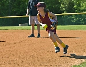 Softball fielding tips