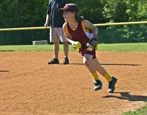 Softball fielding tips