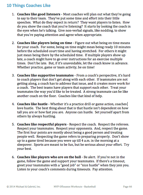 10 Things Basketball Coaches Like image