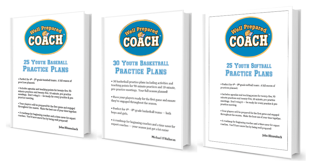 Structured practice plans for youth sports