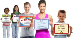 award certificates templates image
