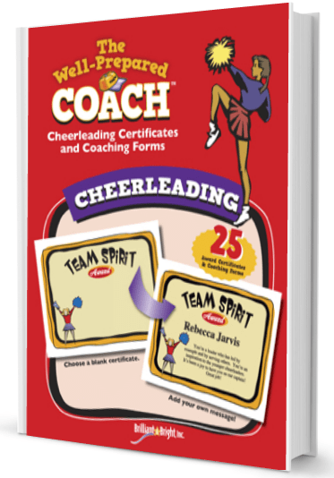 Cheerleading Award Certificates