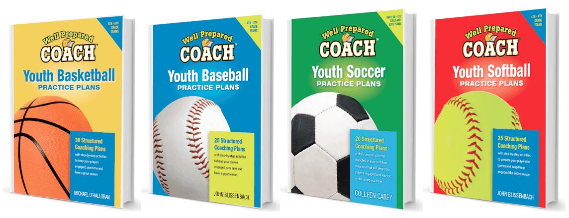 Sports Practice Plans for baseball, basketball, soccer and softball