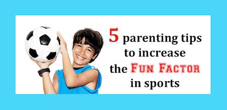 Sports Parents tips image