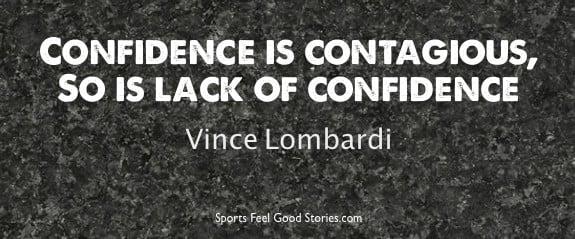 Lombardi confidence saying image