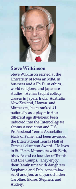 Steve Wilkinson's bio