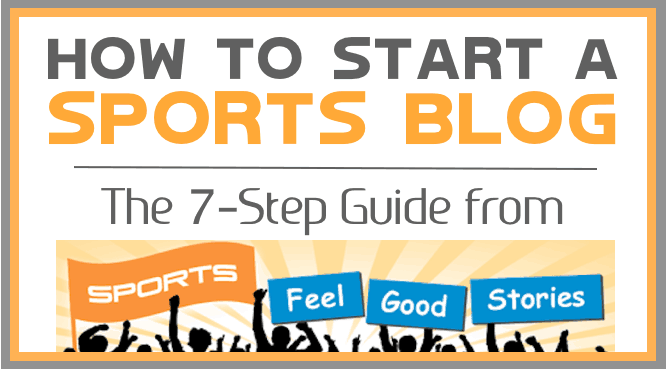 How to start a sports blog guide