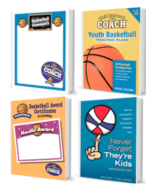 Well prepared coach basketball special