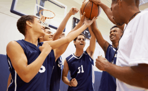 sports fundraiser basketball image