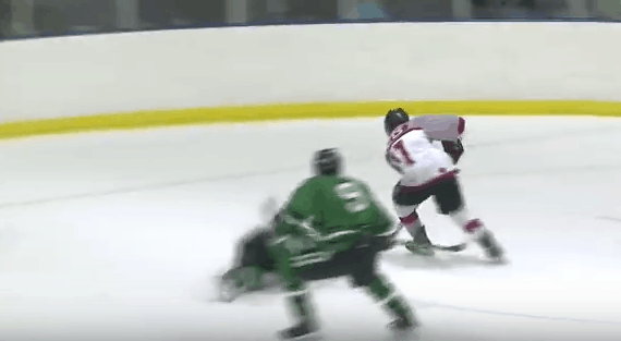 high school hockey goal of the year image