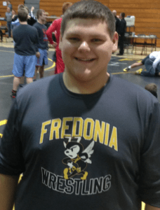Fredonia wrestling Bryar image