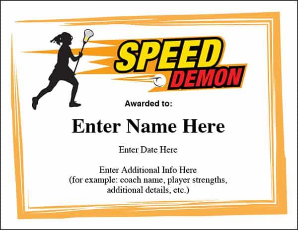 softball awards template