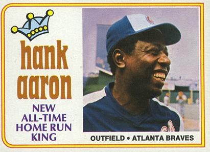 Hank Aaron - greatest baseball hitter image