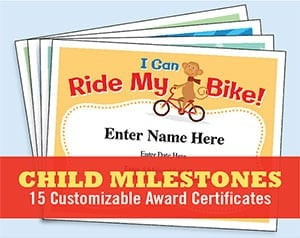 kid certificates templates milestones image