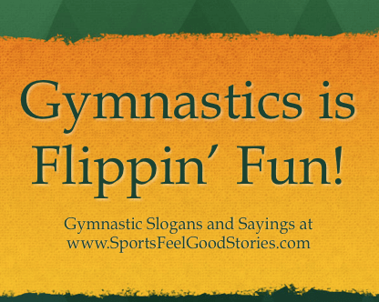 Gymnastics Slogans and Sayings image