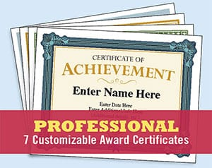 professional certificates image