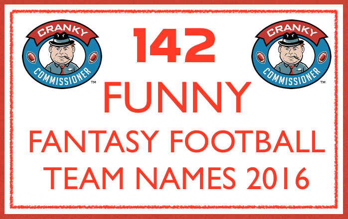 Funny Fantasy Football Team Names image