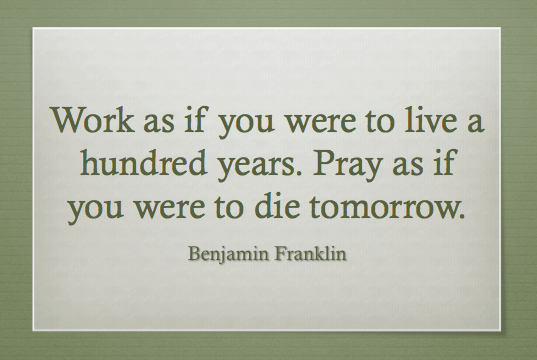 Benjamin Franklin Quotes image