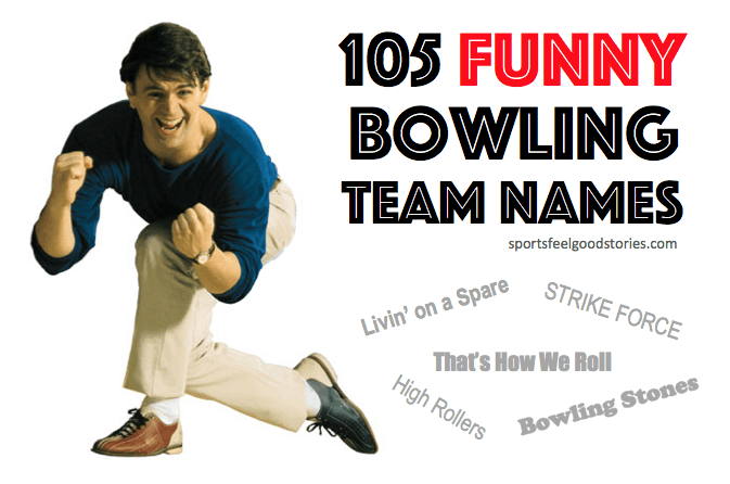funny bowling team names image