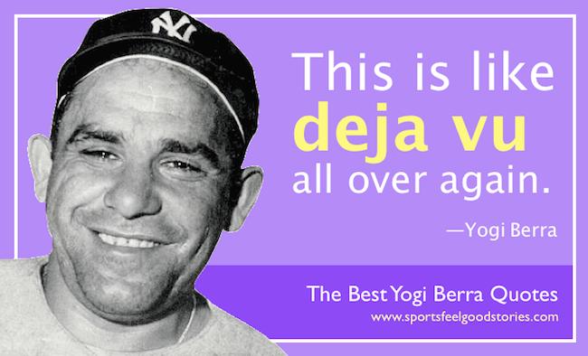 Funny Yogi Berra Quotes image