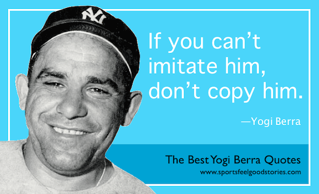 famous Yogi Berra Quotes image
