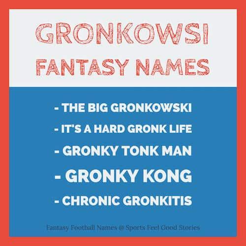 Gronkowski Fantasy Names image