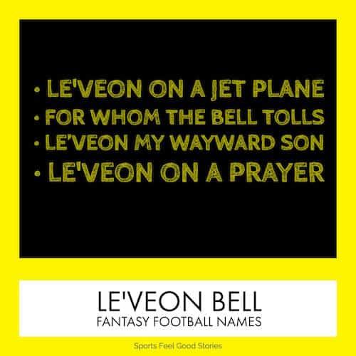 Le'Veon Bell Fantasy Football Names image