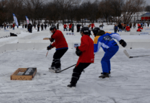 Pond Hockey Power!