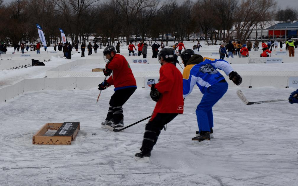 Pond Hockey Power!