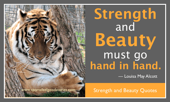 Strength and Beauty Quotes image
