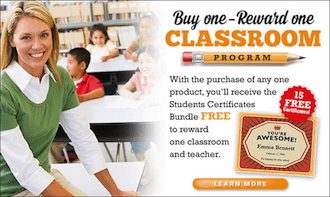 reward a teacher program image