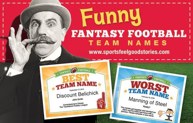 fantasy team names banner image