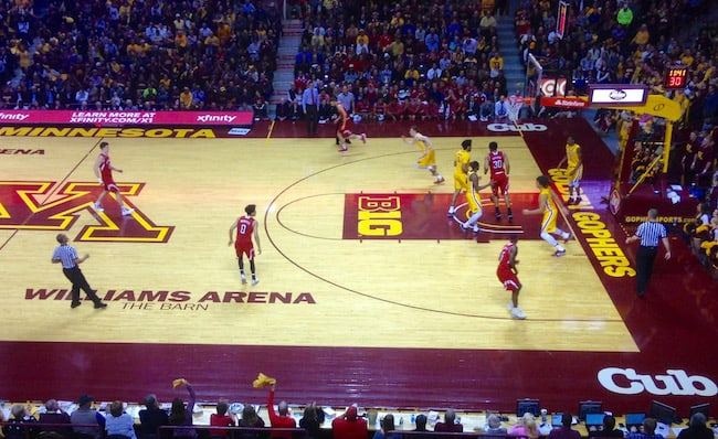 Minnesota Gophers in action image