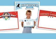 hockey certificates templates