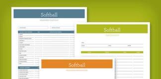 softball planner image