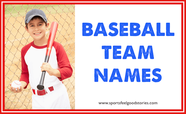 baseball team names lists image