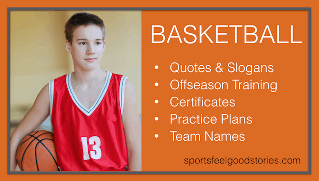 great basketball slogans
