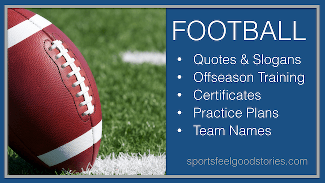Football coach resources image