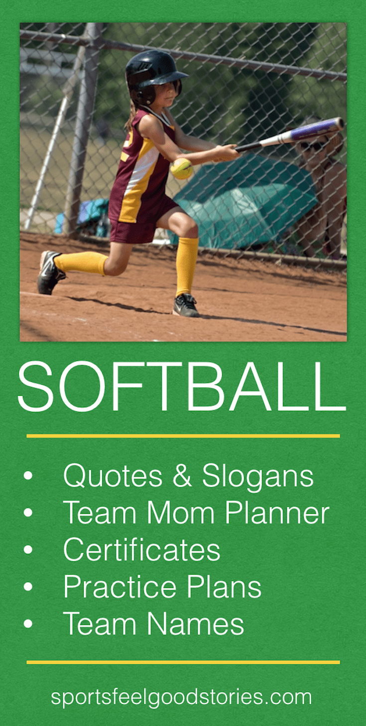 softball coach and team parents resources youth teams