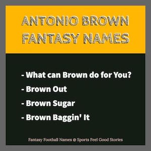 Antonio Brown monikers image