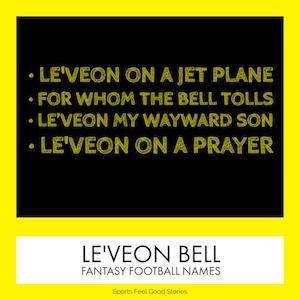 Le'Veon Bell nicknames image