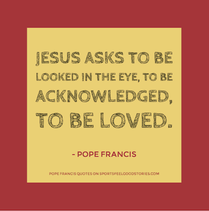 quotes from Pope Francis image
