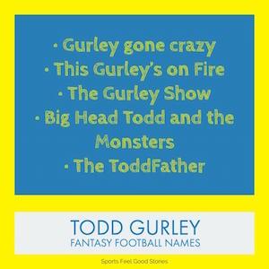 Todd Gurley nicknames image